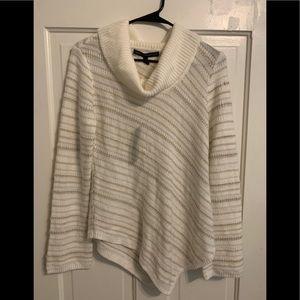White House Black market whbm cowl neck sweater XS